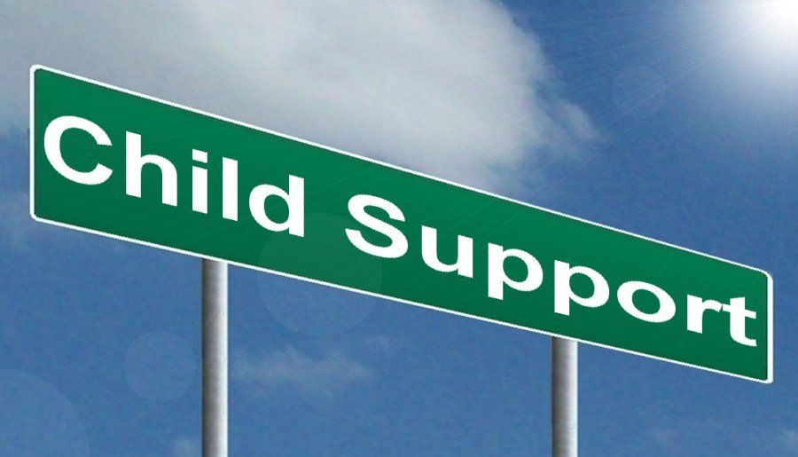 child support sign